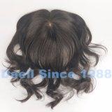 Parrucca cinese di Patial dei capelli delle donne del Virgin nel colore naturale