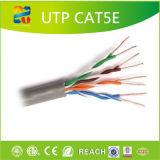 Твердая чуть-чуть медная куртка PVC проводника UTP Cat5e-4p