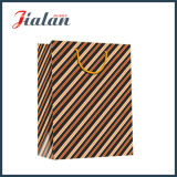 Выдвиженческие мешки подарка несущей покупкы бумаги с покрытием оптовой продажи напечатанные 4c