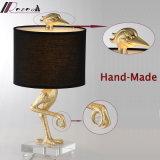 Animal artístico de estilo chino Lámpara de mesa para proyecto hotelero