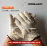 K-74 10 jauges des gants de travail de la sécurité en nylon tricotés