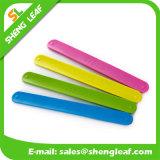 각종 Sizes Eco-Friendly Candy Color Silicon Slap Bracelets