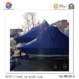Usine bateau vente chaude Marine Construction enroulement rétrécissable Gun Jumbo film avec le prix de la couleur bleu