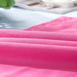 Normaler Farben-Baumwollgewebe-Bettwäsche-Bett-Deckel