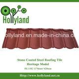 De gekleurde Steen Met een laag bedekte Tegel van het Dakwerk van het Metaal (Klassiek Type) (HL1102)
