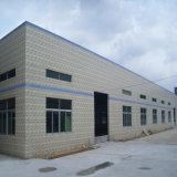 Estructura de acero de la luz para el taller o almacén de la certificación SGS