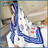 Écharpe chaude de bonne qualité de l'hiver lisse la plus neuve d'écharpe de mode