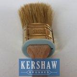 그리십시오 Brush (Oval Brush White Bristle Paint Brush With Beech Wood Handle 의 그림붓)를