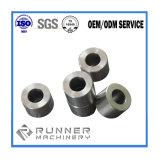 Peças de trituração de giro da precisão do aço/alumínio/ferro do OEM com torno do CNC