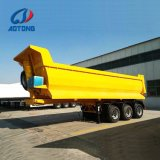 Capovolgimento/deposito dell'asse dell'onere gravoso 3 semi/rimorchio del camion