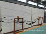 Сляб панды белый мраморный для настила/стены