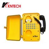 アナログのパブリックSosの電話Knsp-01は電話防水電話に耐候性を施す