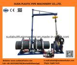 Сварочный аппарат сплавливания трубы HDPE Sud400h пластичный (200-400mm)