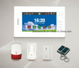 Touch Screen Intrusion Alarm System with Cid Protocol Supported (ES-X6)