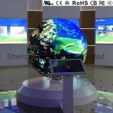Visor LED criativo com P3 europeu de qualidade superior