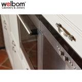 Welbom personalizados de antigüedades de madera sólida mueble de cocina