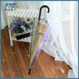 Зонтик качества Hight романтичный цветастый прозрачный