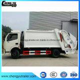 140HP 4X2 쓰레기 압축 분쇄기 쓰레기 트럭