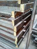 Haus verwendete faltende Stahltüreinstieg-Eisen-Außentür