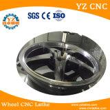 접촉 스크린 다이아몬드 커트 합금 바퀴 변죽 수선 기계 선반