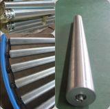 Schwerkraft gebogene Stahlrollen-Förderanlage