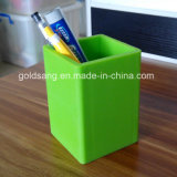 Logotipo personalizado Branded Promotional Silicone Pen Container / Pencil Holder