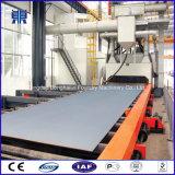 中国の製造者Q6912の鋼鉄はタイプショットブラストの機械によって進められる装置の側面図を描く