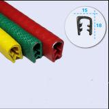 Garniture décorative de bord de l'U-Forme Rubber/PVC pour l'appareillage électrique de machines