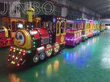 Fabricado en China famoso centro comercial de la marca turística Trackless eléctrico pequeño tren