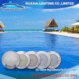 Indicatore luminoso subacqueo fissato al muro della piscina dell'indicatore luminoso LED della lampada di IP68 RGB 12V con telecomando
