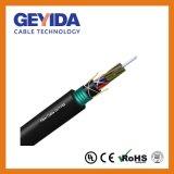 Enterré Direct câble fibre optique de plein air non métalliques (GYFTY53)