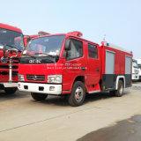 Moteur de 170HP Dongfeng 6000 litres montés sur camion Véhicule de lutte contre les incendies