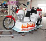 Buena calidad de fibra de vidrio moto eléctrica modelo vía paseos en tren en venta