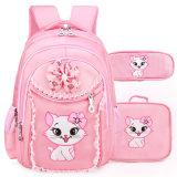 Sweet Meninas projeto Lace Livro de Nylon impermeável bag bolsa a tiracolo sacos de mochila escolar definir