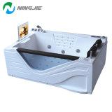 Salle de bains en acrylique de meubles de luxe un bain à remous baignoire (5210)