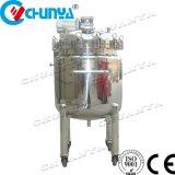 Serbatoio mescolantesi dell'agitatore del riscaldamento della Cina 1000L dell'acciaio inossidabile della spremuta del vino dell'alimento Heated rivestito della birra