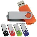 R402 Classic Swivel USB Flash Drive con el logotipo con un bajo coste