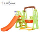 Venda quente plástica e gire o parque infantil para venda (HBS17024B)