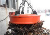Ímã de levantamento de aço cobrando da sucata da fornalha de alta temperatura para a fresa de aço