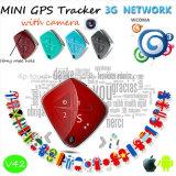 отслежыватель GPS сети 20173G пожилой миниый с камерой V42