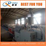 Kurbelgehäuse-BelüftungWPC hölzerner Plastikfaux-Marmor-Profil-Blatt-Extruder, der Maschine herstellt