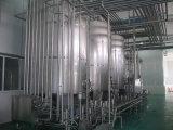 Linha de produção fresca automática cheia do leite 2000L/H