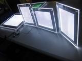 低価格のカスタム写真のライトボックスのアクリルの水晶LEDのライトボックス
