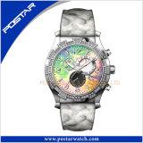 デラックスで新しい到着のステンレス鋼のスポーツの腕時計のクロノグラフの腕時計