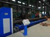 Rollen-Bett-Typ CNC-Rohr-Ausschnitt-Maschine