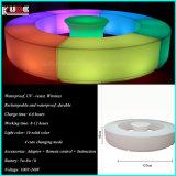 Tipo disposizione dei posti a sedere moderna della mobilia della barra del cubo del randello di notte di apparenza 3D LED