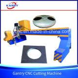 Машина кислородной разделки кромки под сварку CNC Gantry металлопластинчатая с приставным резаком Kr-Fy плазмы