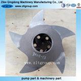 Ventola della pompa di Durco dell'acciaio inossidabile della pompa centrifuga del pezzo fuso di investimento
