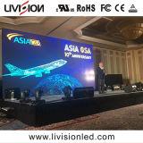 L'intérieur de l'écran de la publicité P3.9/4.8 LED du panneau d'écran vidéo de haute qualité d'affichage vidéo LED