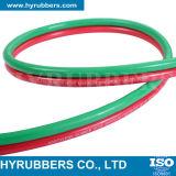 De rubber Slang van het Lassen, de RubberSlang van de Zuurstof, de RubberSlang van het Acetyleen